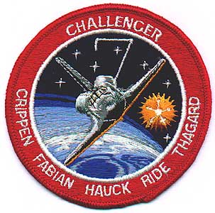 sally ride nasa name patch - photo #6